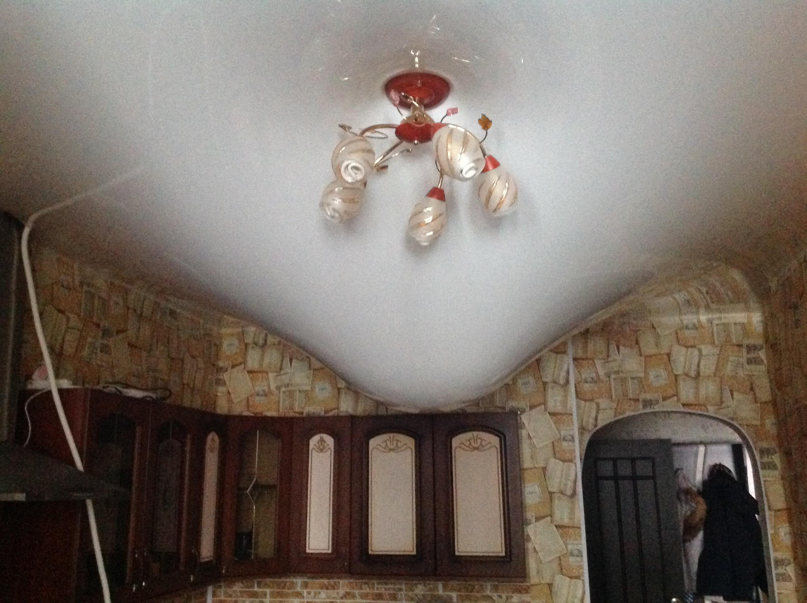навесной потолок затопили москва